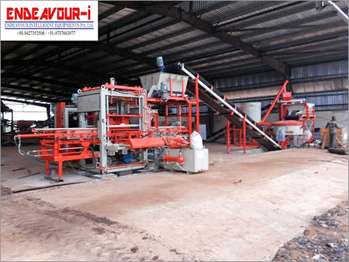 Automatic Concrete Blocks Plant / ENDEAVOUR-iC750