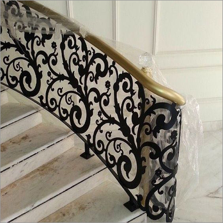 CNC Metal Cutting Railing