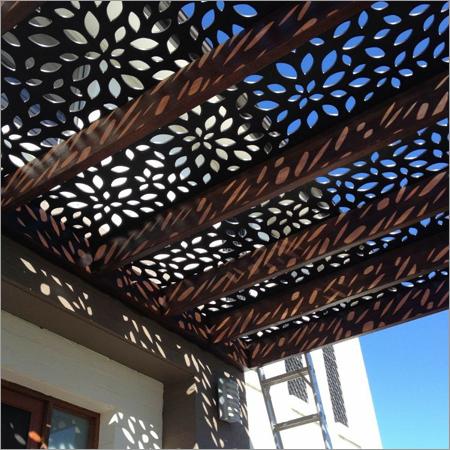 CNC Metal Cutting Roof Shed