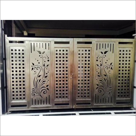 Steel Gates Fabrication