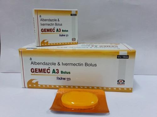 Albendazole & Ivermectin Bolus
