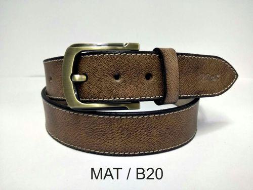 Leather Designer Belt