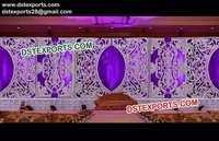 Big Fiber Panel Wedding Stage