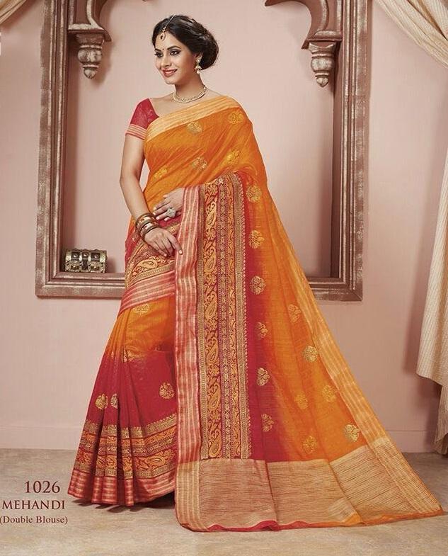 Indian Wear Silk Sarees