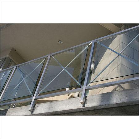 SS Balcony Glass Grills
