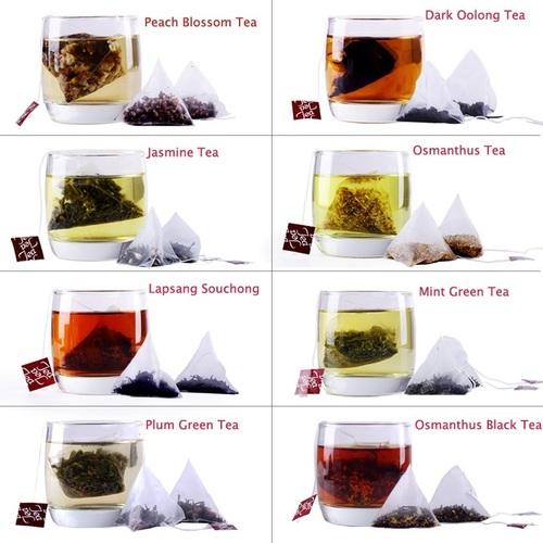 Flavoured tea bag