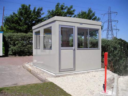 Prefabricated Modular Security Cabins