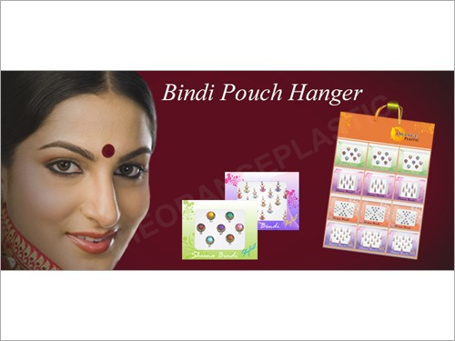Bindi Pouch Display Hangers