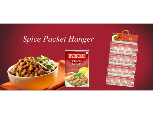 Spice Packet Hanger