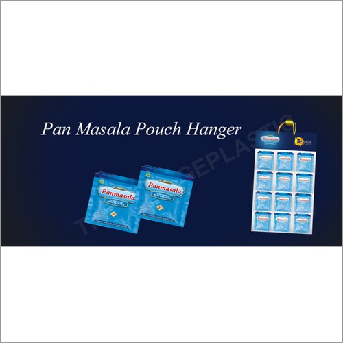 Pan Masala Display Pouch Hangers
