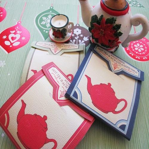 Tea bag with envelope