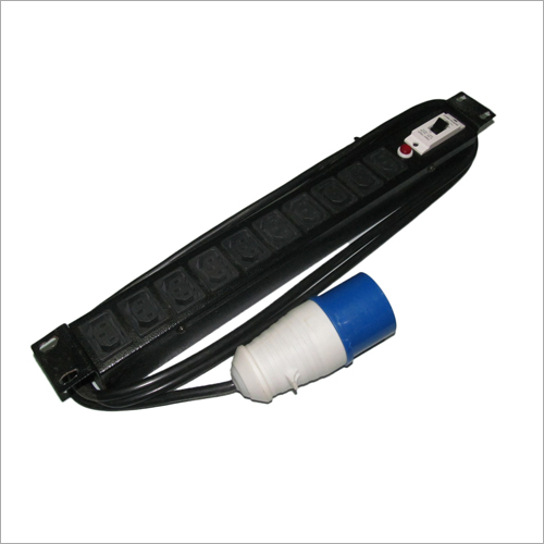 PDU 10 Socket IEC C-13 with industrial top