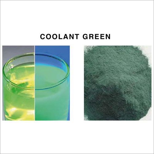 Coolant Green Dyes