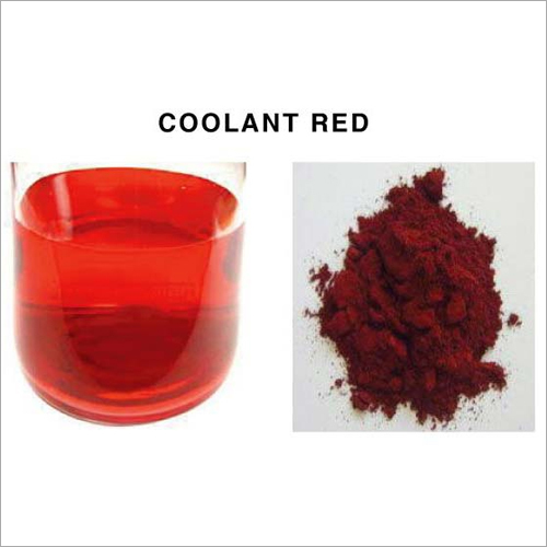 Coolant Red Dyes