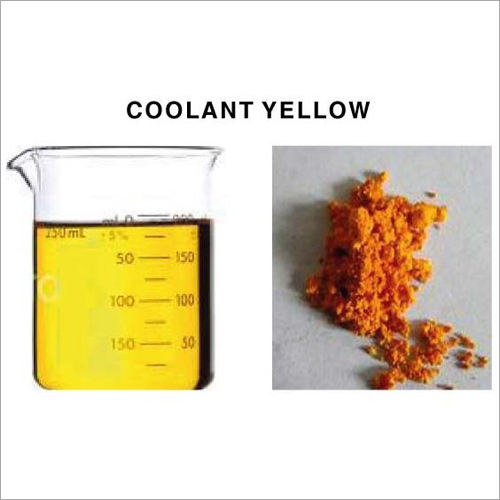 Coolant Yellow Dyes