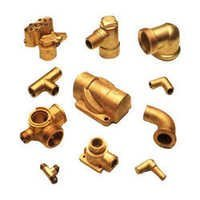 Machined Brass Forgings