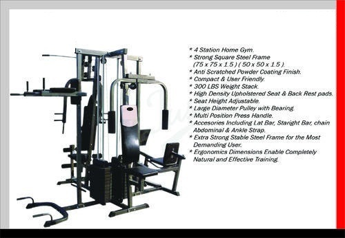 4 station multi gym JF 504