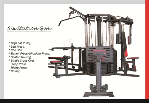 6 STATION MULTI GYM JF -606