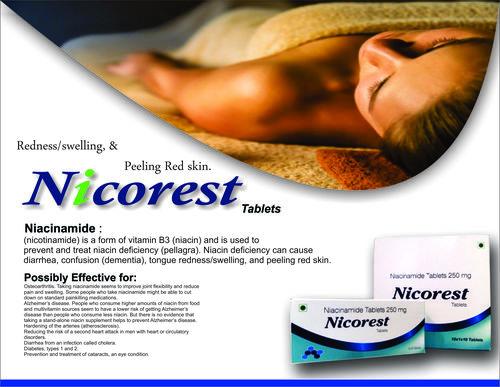 Niacinamide Tablets 250 mg