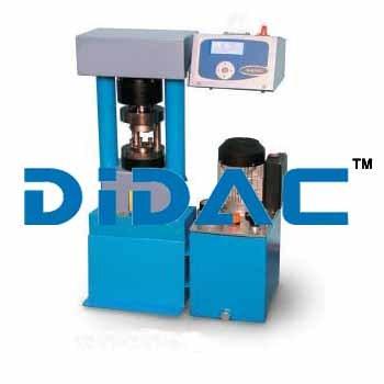 Compression And Flexural Machine Dual Range 500/15 KN Motorized Digitec