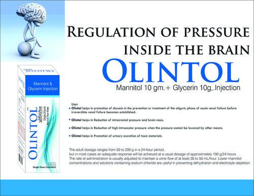 MANNITOL + GLYCERIN INJ -100ML