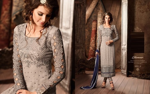 Shop Long Pakistani Style Suits Online