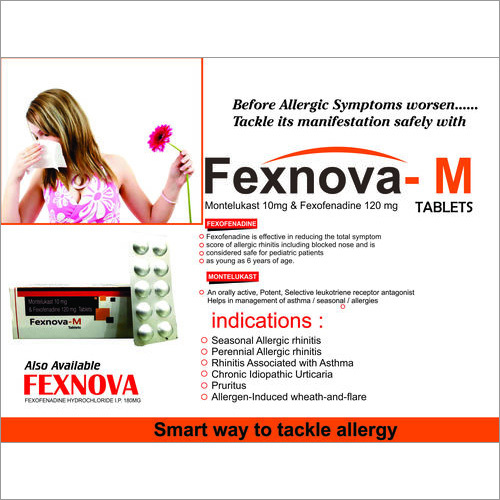 Montelukast and Fexofenadine