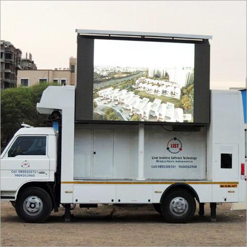 Mobile Van LED Display Screen