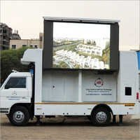 Mobile Van LED Display Screen