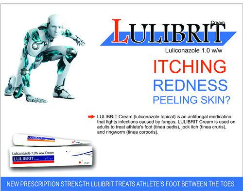 LULICONAZOLE 1.0% W/W CREAM