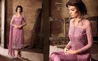 Buy Net & Satin Designer Suit Online