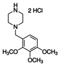 Trimetazidine dihydrochloride - reference spectrum
