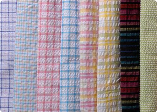 Seer Sucker Stripes/Checks Fabric