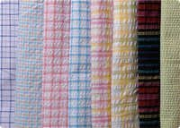 Seer Sucker Stripes/Checks Fabric