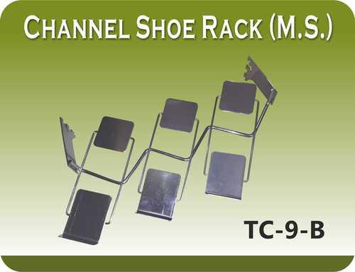 CHANNEL SHOE RACK