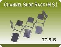 CHANNEL SHOE RACK