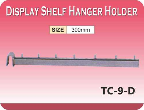 DISPLAY SHELF HANGER HOLDER