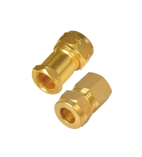 Brass Compression Female Connector