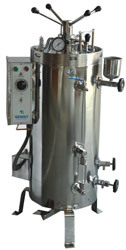 VERTICAL AUTOCLAVE RADIAL LOCKING