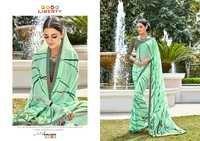 Printed Partywear Saree