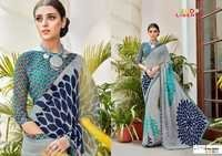 Designer Digital Printed Saree