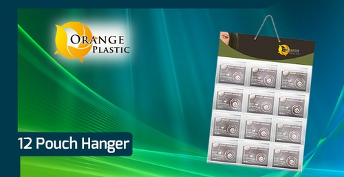 Advertising Pouch Hanger