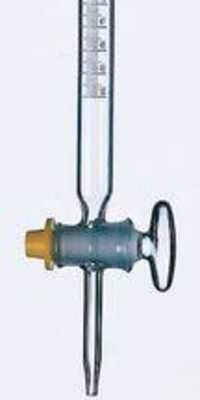 Burette With Straight Bore Glass Key