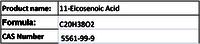 11-Eicosenoic Acid