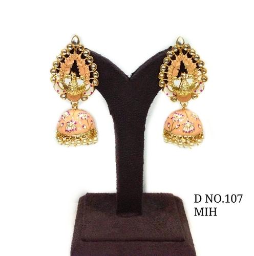 Stone/Polki Earring Tika