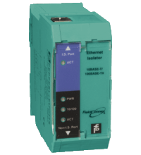 Intrinsically safe Ethernet Isolator