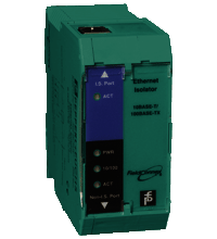 Intrinsically safe Ethernet Isolator