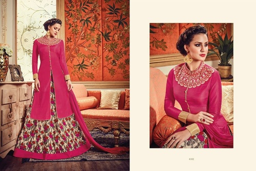 Shop Designer Lehanga Style Suit Online