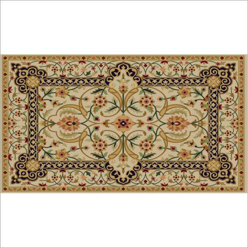 Hand Tufted Silk Carpet
