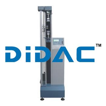 AC Motor 1 KN Plastic Tensile Testing Machine